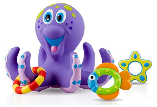 Nuby-Octopus-Floating-Bath-Toy-Multi-Coloured-0