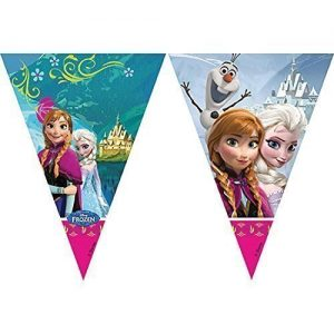 Official-Disney-Frozen-Plastic-Triangle-style-Bunting-Banner-0