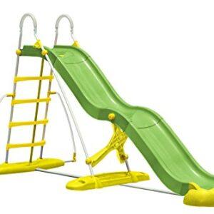 Outdoor-Garden-Summer-12-Foot-Jumbo-Fun-Slide-with-WATER-Connection-0