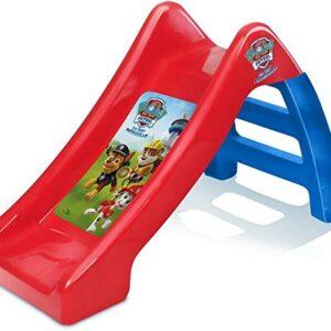 Paw-Patrol-KidsChildrens-Official-Junior-Play-Slide-OutdoorIndoor-60cm24-for-Baby-Infant-and-Toddler-Boys-10-Months-Small-Plastic-Childs-Garden-Playground-Toy-Lightweight-Portable-RedBlue-0