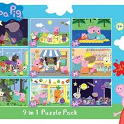 Peppa-Pig-9-in-1-Jigsaw-Puzzle-Pack-0-0
