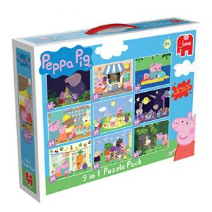 Peppa-Pig-9-in-1-Jigsaw-Puzzle-Pack-0