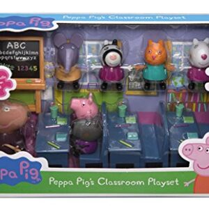 Peppa-Pig-Classroom-Playset-Peppa-Pig-figures-including-Peppa-Madam-Gazelle-0