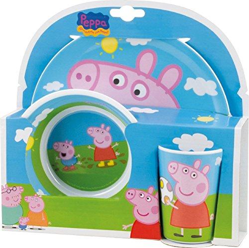 Peppa-Pig-Melamine-Set-2-Plates-and-1-Tumbler-0