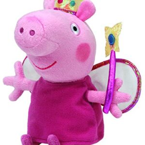 Peppa-Pig-Princess-Peppa-Beanie-Baby-plush-toys-Approximately-7-tall-0