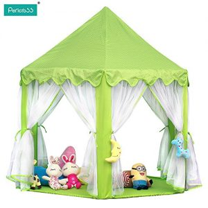 Pericross-Princess-Playhouse-Pink-Play-Tents-for-Girls-0