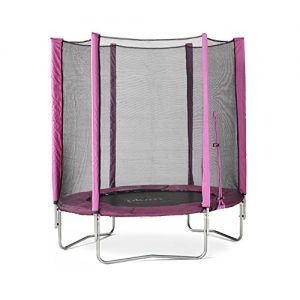 Plum-Products-6-ft-Trampoline-Enclosure-Pink-0