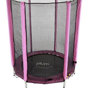 Plum-Products-Junior-Trampoline-and-Enclosure-Pink-0
