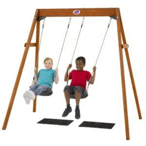 Plum-Wooden-Double-Swing-Set-0
