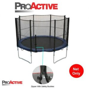 ProActive-12ft-Trampoline-Safety-Netting-Net-Only-For-Trampoline-With-8-Poles-0