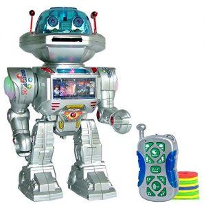 RC-Remote-Control-Robot-Talking-Kids-Toy-Robot-with-Sound-and-Lights-Walking-Talking-Shooting-RC-Robot-Shoots-Frisbees-Walks-Slides-Dances-Talks-PL9029-0