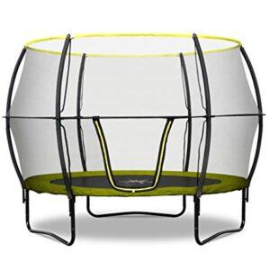 Rebo-Base-Jump-II-Trampoline-With-Halo-II-Enclosure-4-Sizes-Avaliable-0