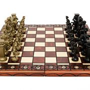 SPARTAN-DECORATIVE-CHESS-SET-42X42-STUNNING-CHESSBOARD-AND-WEIGHTED-PIECES-0-1