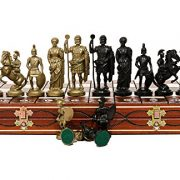 SPARTAN-DECORATIVE-CHESS-SET-42X42-STUNNING-CHESSBOARD-AND-WEIGHTED-PIECES-0-5