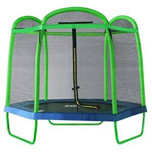 SixBros-SixJump-7FT-210-M--Garden-Trampoline-Green-Safety-net-TG2102026-0
