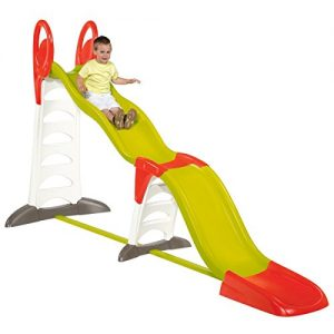 Smoby-Childrens-Kids-2-In-1-XL-Super-Garden-Slide-Megagliss-0
