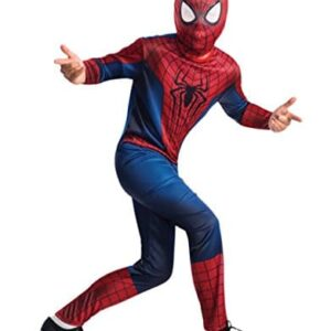 Spider-Man-Costume-Kids-The-Amazing-Spider-Man-Outfit-Large-Age-8-10-HEIGHT-4-8-5-0