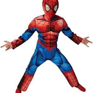 Spider-Man-Deluxe-Ultimate-Classic-Childrens-Fancy-Dress-Costume-0