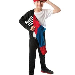 Spider-Man-Reversible-Costume-Kids-Ultimate-Spider-Man-Outfit-Medium-Age-5-7-HEIGHT-4-2-4-6-0