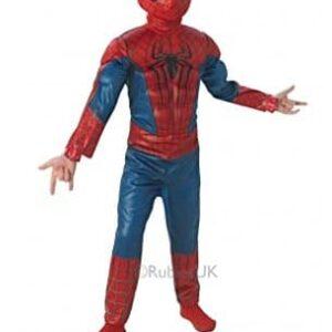 Spiderman-154978s-Range-Luxury-3D-EVA-Amazing-Spiderman-2-Costume-Size-S-0