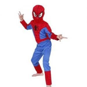 Spiderman-Classic-Costume-Childs-Fancy-Dress-Large-Age-7-8-0