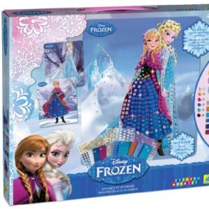 Sticky-Mosaics-Disney-Frozen-Anna-and-Elsa-with-Jewels-0