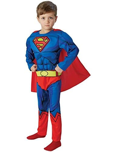 Superman-Deluxe-Comic-Book-Childrens-Fancy-Dress-Costume-0