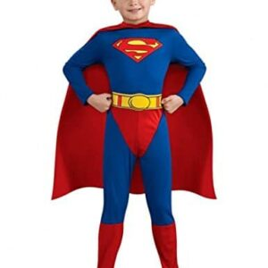 Superman-Toddler-Boys-Costume-Man-of-Steel-Outfit-From-Express-Fancy-Dress-0