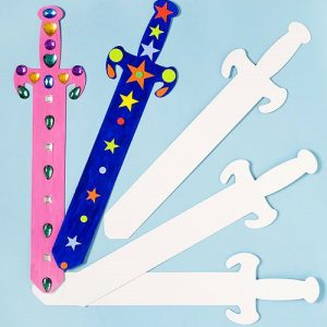 Sword-Card-Art-Craft-Shapes-50cm-for-Children-to-Decorate-and-Display-Pack-of-6-0