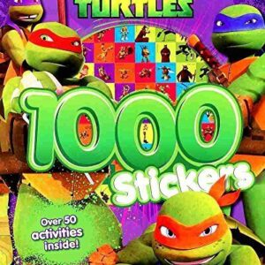 TMNT-Teenage-Mutant-Ninja-Turtles-Colouring-and-Activity-Book-With-1000-Stickers-0