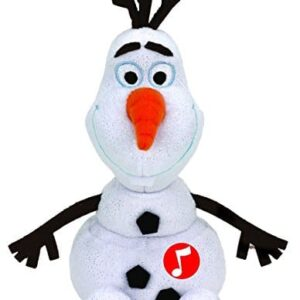 TY-Beanie-Baby-ty41148-Olaf-The-Snowman-Musical-Soft-Toy-20-cm-0