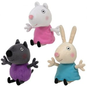TY-PEPPA-PIG-SERIES-DANNY-DOG-SUZY-SHEEP-REBECCA-RABBIT-TRIO-SET-Toy-0