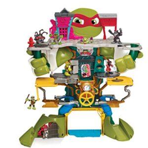 Teenage-Mutant-Ninja-Turtles-TUH30000-Half-Shell-Heroes-Headquarters-Playset-0