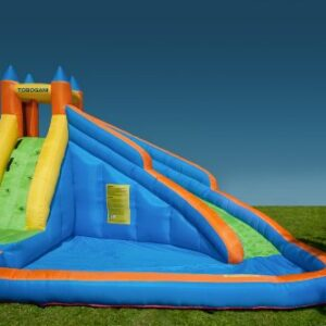 Tobogani-Water-Park-Paddling-Pool-with-Inflatable-Slide-12-m-includes-static-blower-0