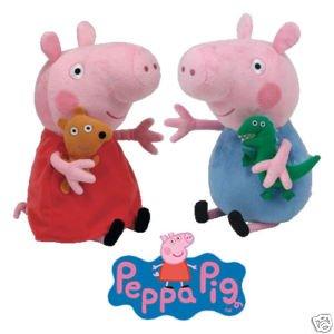 Ty-Beanie-Babies-Peppa-Pig-George-15cm-0