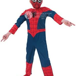 Ultimate-Spider-Man-Deluxe-Childrens-Fancy-Dress-Costume-0