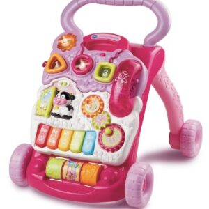 VTech-Baby-First-Steps-Baby-Walker-Pink-0