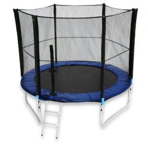 We-R-Sports-Trampoline-with-Safety-Enclosure-Net-Ladder-and-Rain-Cover-Black-6-Ft-0