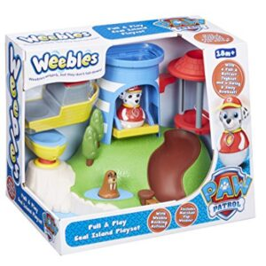 Weebles-Paw-Patrol-06114-Pull-and-Play-Seal-Island-Playset-0
