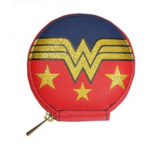 Wonder-Woman-Glitter-Logo-Zipped-Coin-Purse-0