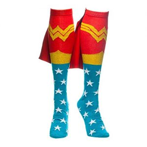 Wonder-Woman-Knee-High-Caped-Socks-0