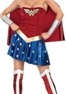 Wonder-Woman-Ladies-Fancy-Dress-Costume-Medium-UK-12-14-0