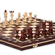 Woodeyland-Hand-Crafted-Wooden-SENATOR-Chess-PROFESSIONAL-Set-40-x-40-cm-0-0