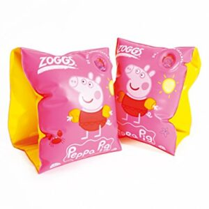 ZOGGS-Peppa-Pig-Junior-Kids-Inflatable-Swimming-Armbands-0