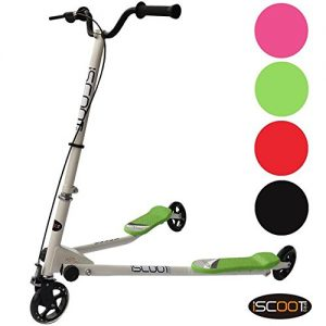 iScoot-Pro-V3-Tri-Push-Swing-Scooter-Winged-Speeder-Tri-Wheel-3-Wheel-Kick-Scooter-Bobbi-Board-for-Boys-Girls-Children-Kickboard-0