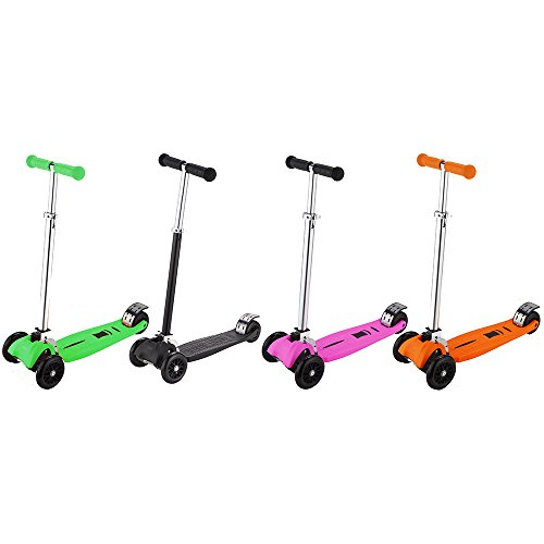 iScoot-Pro-v2-Tilt-Kickboard-Mini-T-Bar-3-Wheel-Kick-Scooter-Bobbi-Board-for-Boys-Girls-Children-0