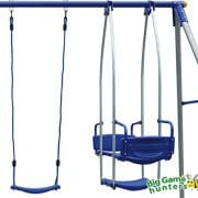 4-Unit-Metal-Swing-Frame-Fits-6-Children-with-Trapeze-Bar-Swing-Seat-2-Double-Swings-0-2