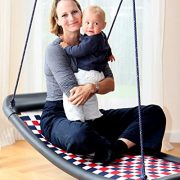 Large-multi-child-swing-silverredblue-perfect-fun-for-4-children-and-the-whole-family-directly-from-the-manufacturer-0-3