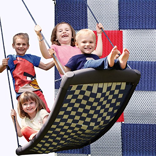 Large-multi-child-swing-silverredblue-perfect-fun-for-4-children-and-the-whole-family-directly-from-the-manufacturer-0