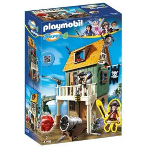 Playmobil-4796-Super-4-Gunpowder-Island-House-0